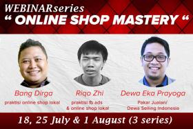 Webinar Series Online Shop Mastery