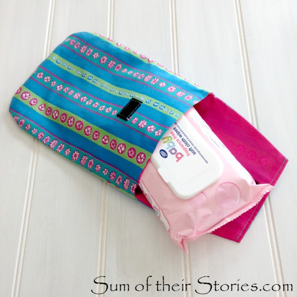 Wipes and nappy case