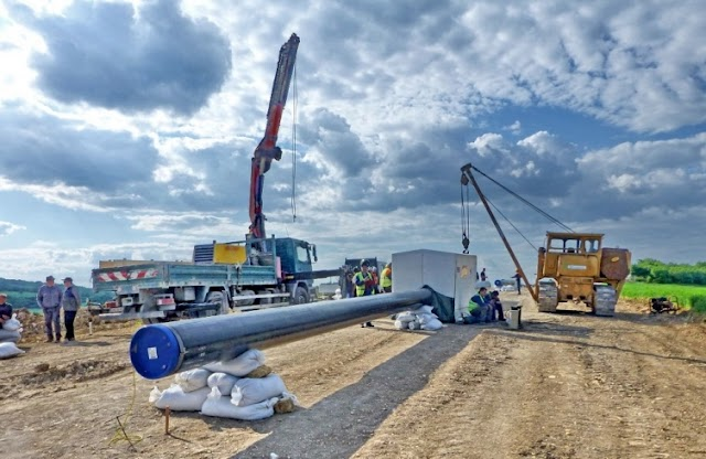 Gruevski says national gas pipeline network construction continues as planned