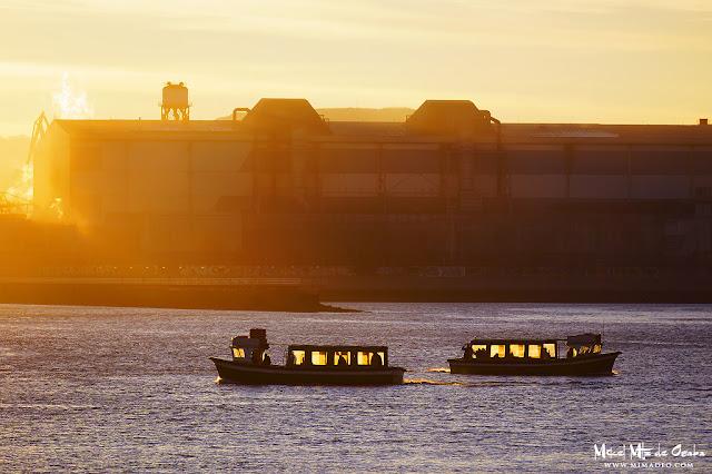 Botes entre Portugalete y Las Arenas