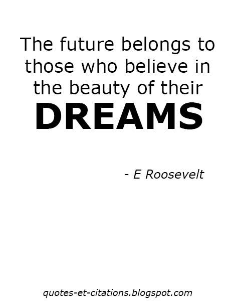 citation la beauté de nos rêves