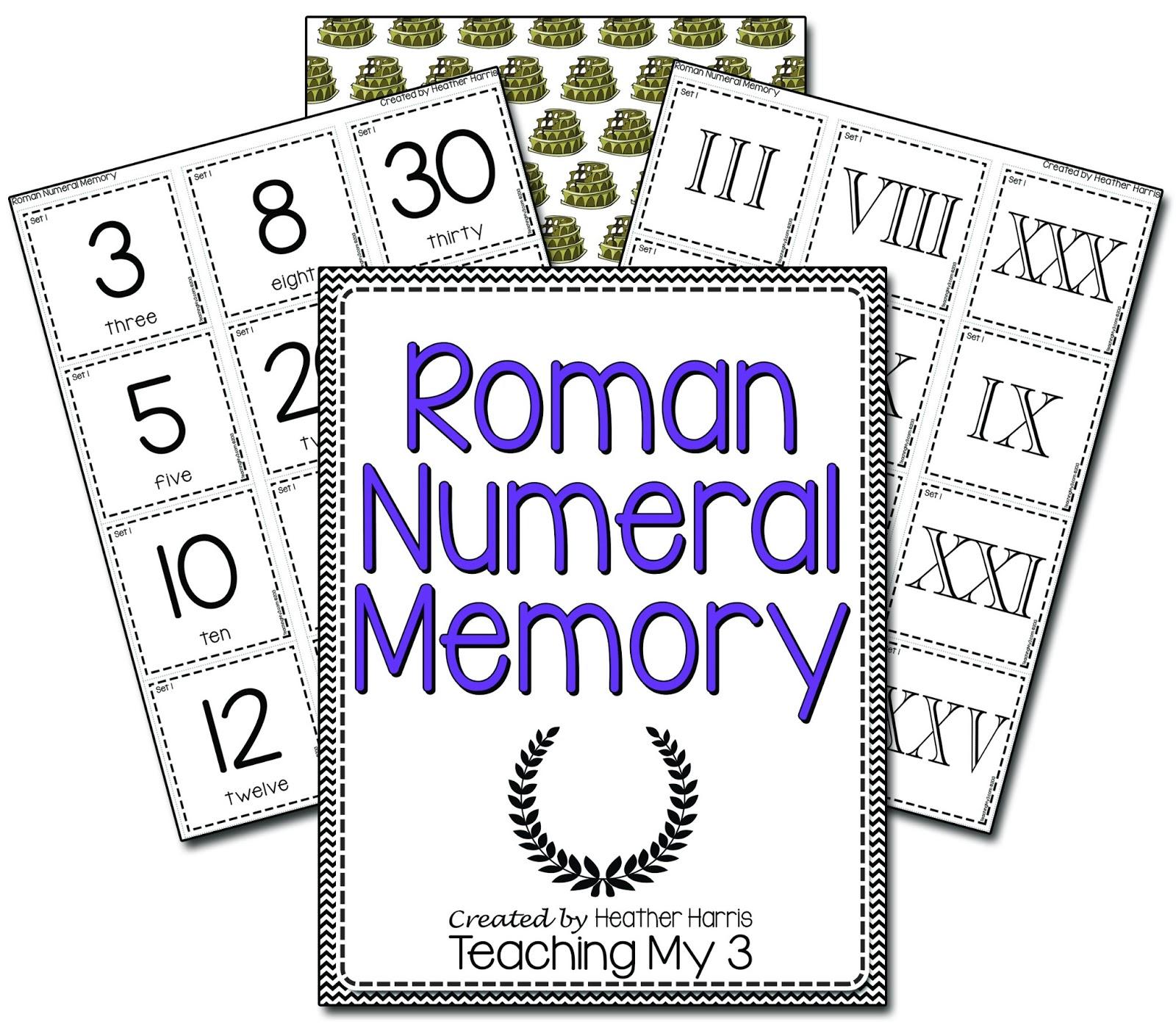 Heather S Teaching Blog Roman Numerals
