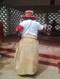 Crown Prince Eheneden Erediauwa performs Ukpukpe rites