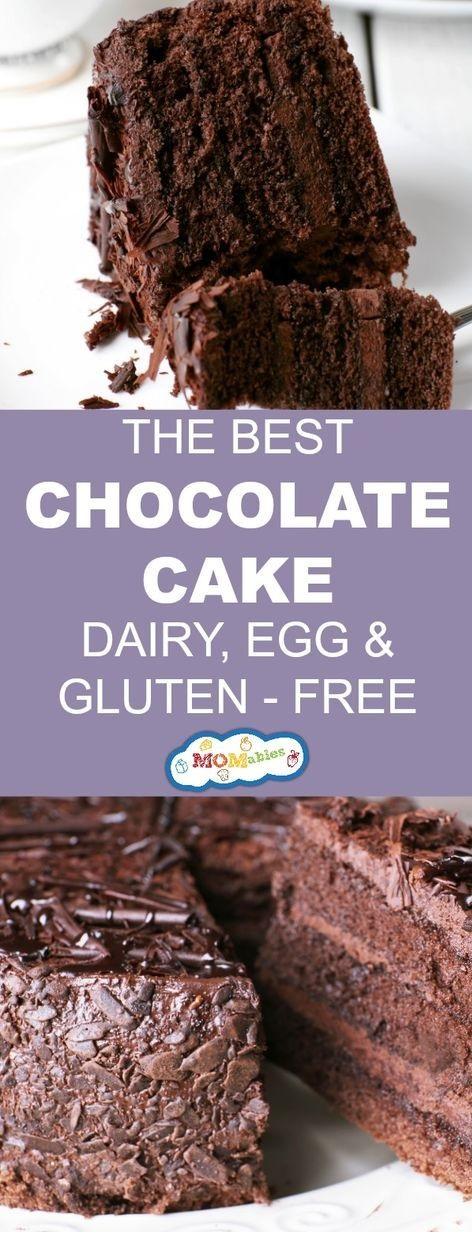 Gluten-, Egg-, And Dairy-Free Chocolate Cake