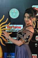 Sanjjanaa Galrani aka Archana Galrani in Maroon Gown beautiful Pics at IIFA Utsavam Awards 2017 04.JPG
