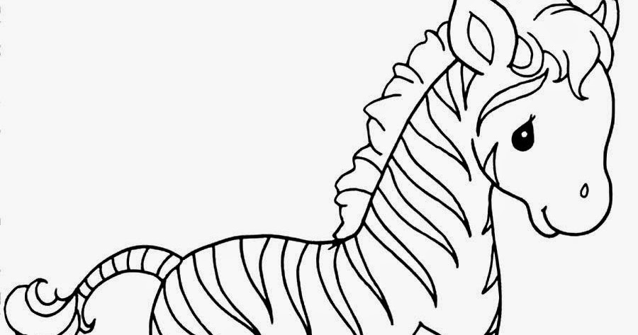 Baby Zebra Coloring Pictures