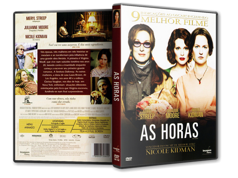 Capa DVD As Horas (Oficial)