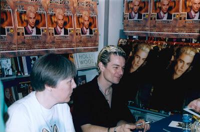 rencontre avec James Marsters Spike dans Buffy