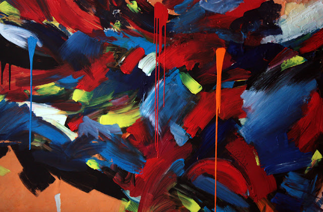 peinture eponge mouvement jean baptiste besançon artiste peintre
