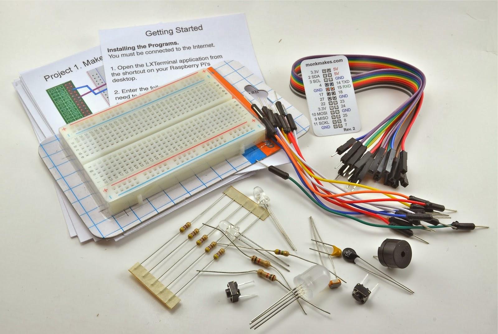 Dr  Monk's DIY Electronics Blog: Raspberry Pi Fridge Minder