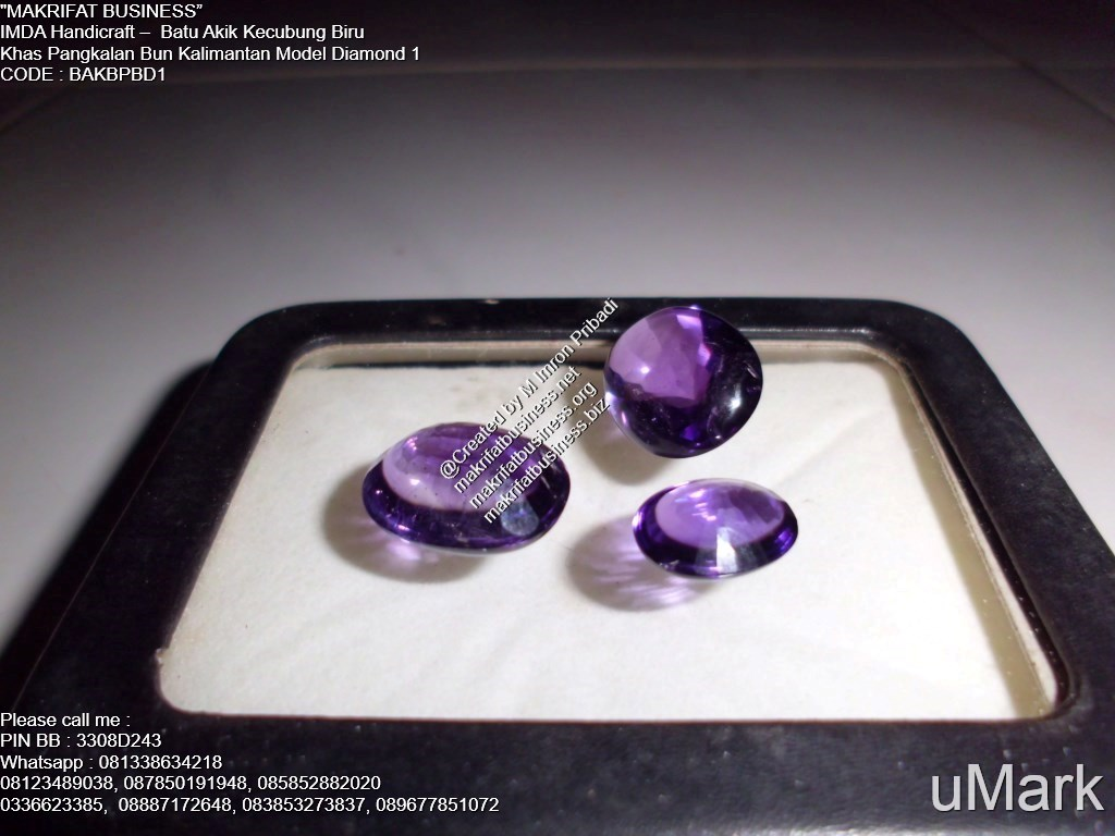 Batu Akik Kecubung