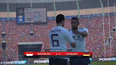 PES 2017 Scoreboard FIFA World Cup 2018 by Irvanlana