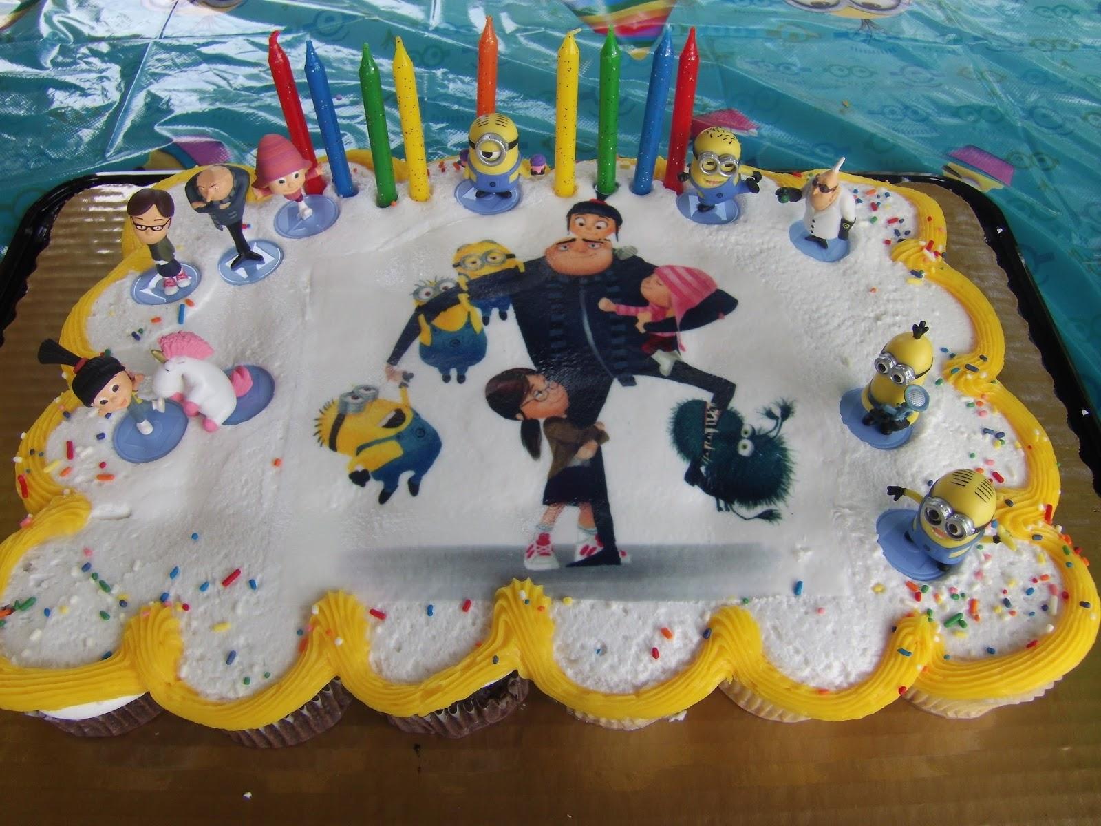 Minion Birthday Cakes At Kroger