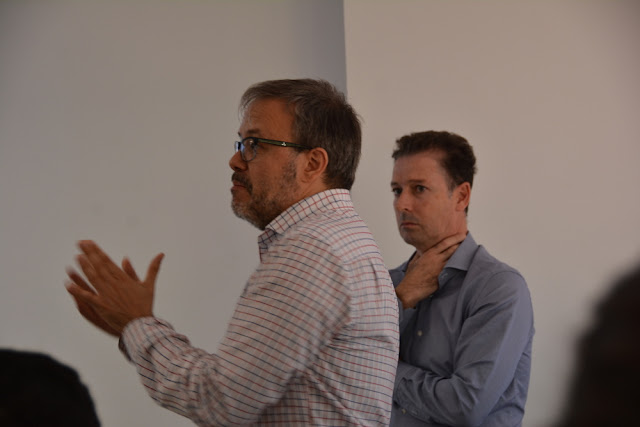 Javier Moralo y Gregorio Romero de Datahack