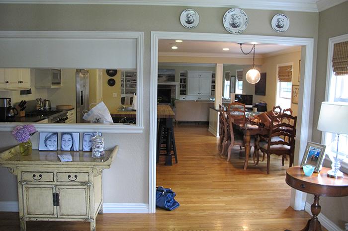 Antes y despu s de una cocina abierta e integrada con el for Unir cocina y salon