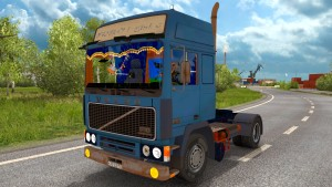 Volvo F10 rusted