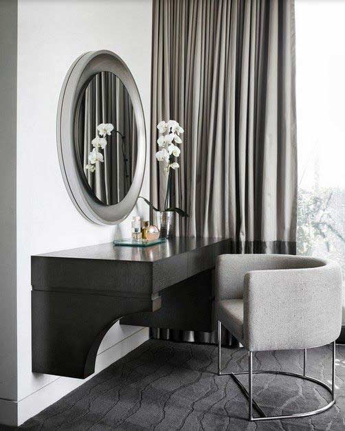 Luxury modern white dressing table designs 2018