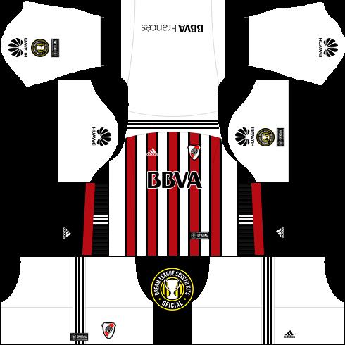 e86eb2b5423 Dream League Soccer Kits: River Plate (Alternativo) 18/19 - DLS18 ...