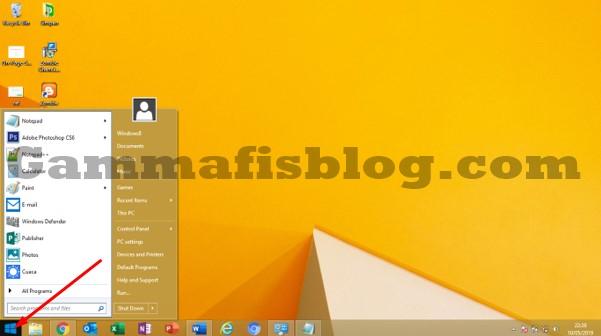 Cara Mengubah Tampilan Start Menu Menjadi Windows 7