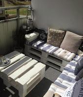 kanapes apo paletes gia mikro mpalkoni
