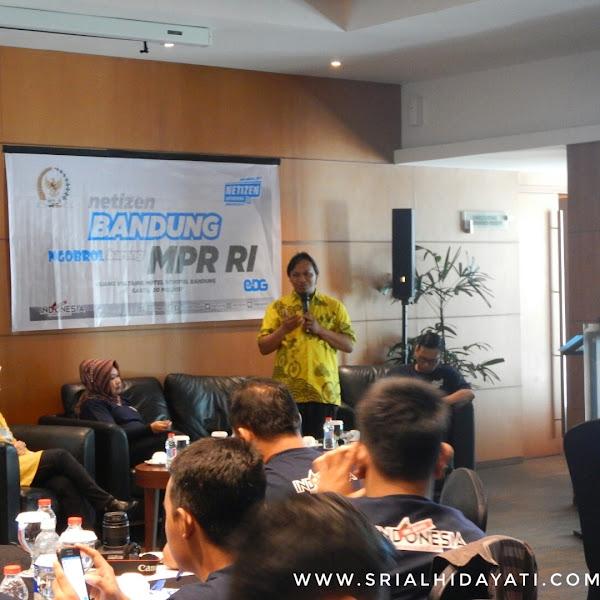 Review Event Netizen Bandung Bareng MPR RI: Menanamkan Cinta 4 Pilar MPR RI Kepada Anak Bangsa