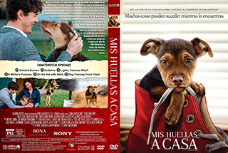 A Dogs Way Home - Mis Huellas a casa - Cover - DVD