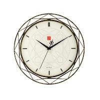 Frank Lloyd Wright Luxfer Prism Wall Clock