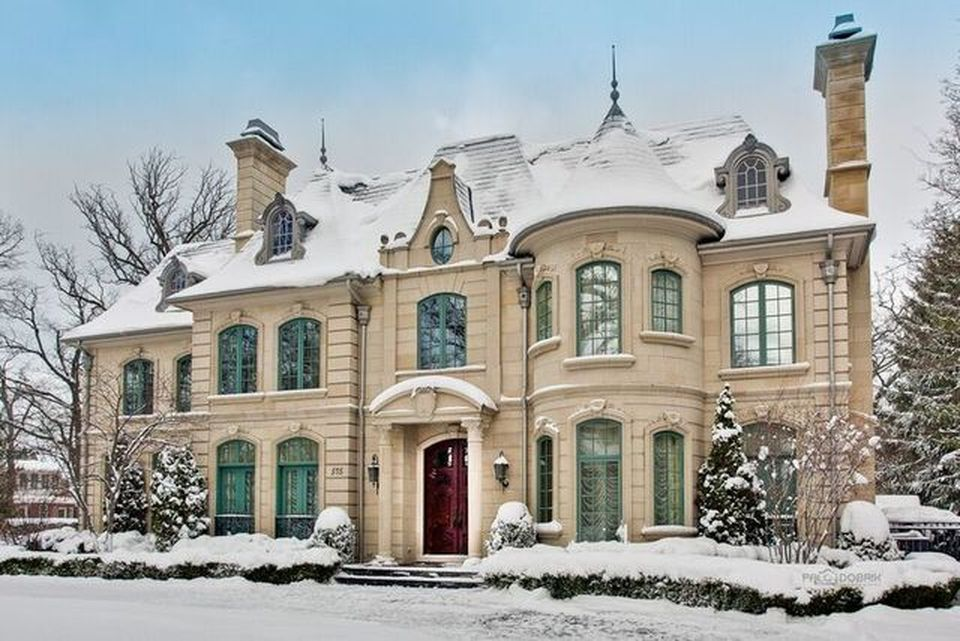 A Masterpiece Limestone French Chateau In Glencoe Il