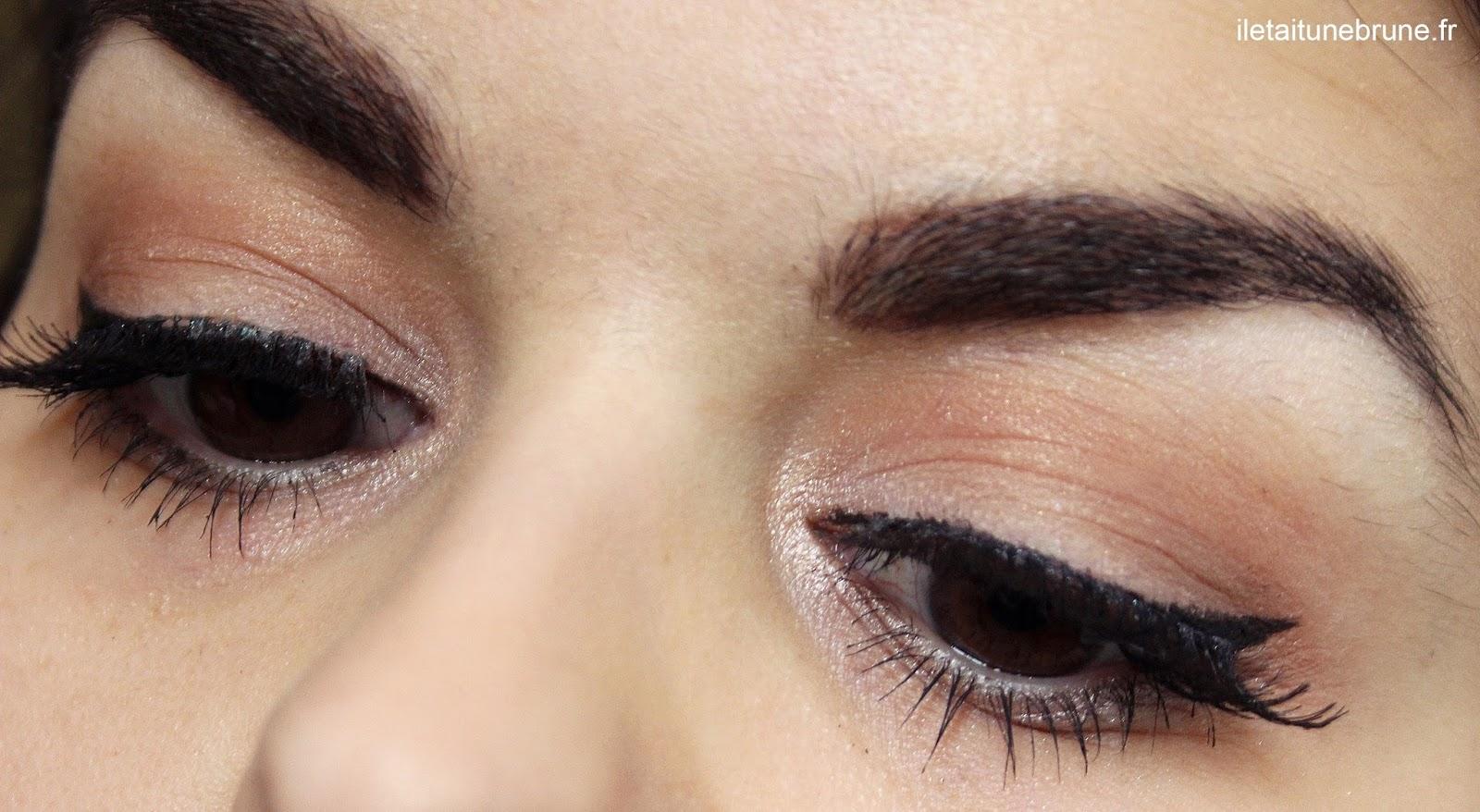maquillage des yeux discret