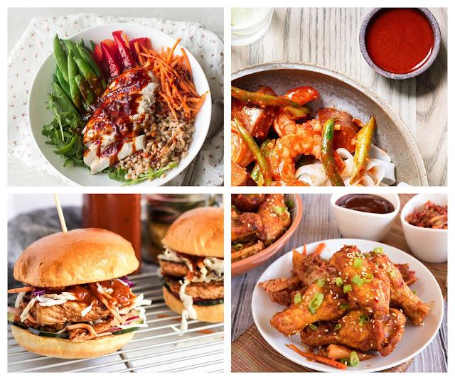 Hơn cả bột ớt gochugaru, tương ớt gochujjang ít cay hơn, ngọt hơn và có vị thơm hơn, thích hợp để ướp thịt, sốt cơm, sốt mì, bánh các loại. Gochujjang thường được dùng trong các món súp như canh kim chi, pha với nước để sốt bánh gạo, sốt cơm bibimbap, ướp kimchi... Gochujang còn được dùng để pha chế ssamjang, một loại nước ướp thịt BBQ kiểu Hàn Quốc.