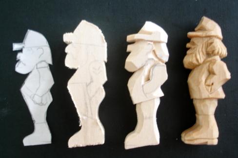 BEGINNERS CARVING CORNER AND BEYOND: Civil War Soldier