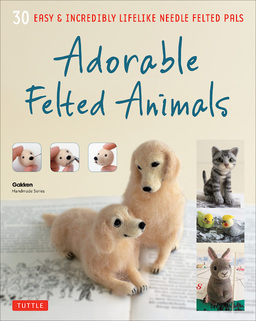 http://www.tuttlepublishing.com/origami-crafts/adorable-felted-animals-paperback-with-flaps