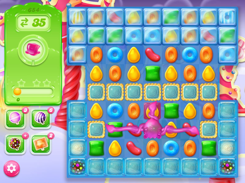 Candy Crush Jelly Saga level 654