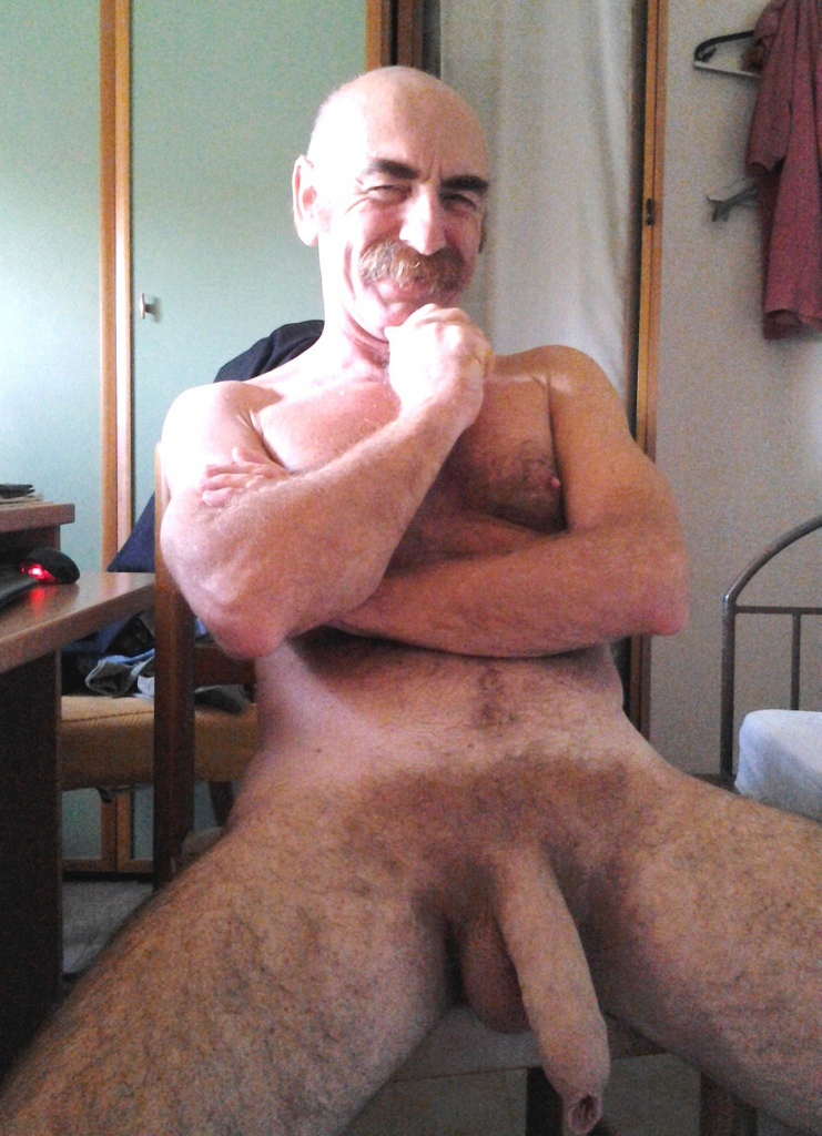 Hairy daddies naked And you
