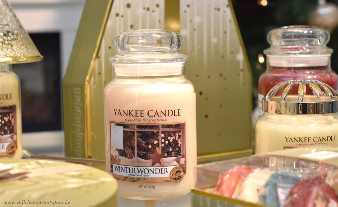 Yankee Candle - Alle Kollektionen und Duftbeschreibungen für 2018 - Holiday Sparkle Kollektion - Winter Wonder
