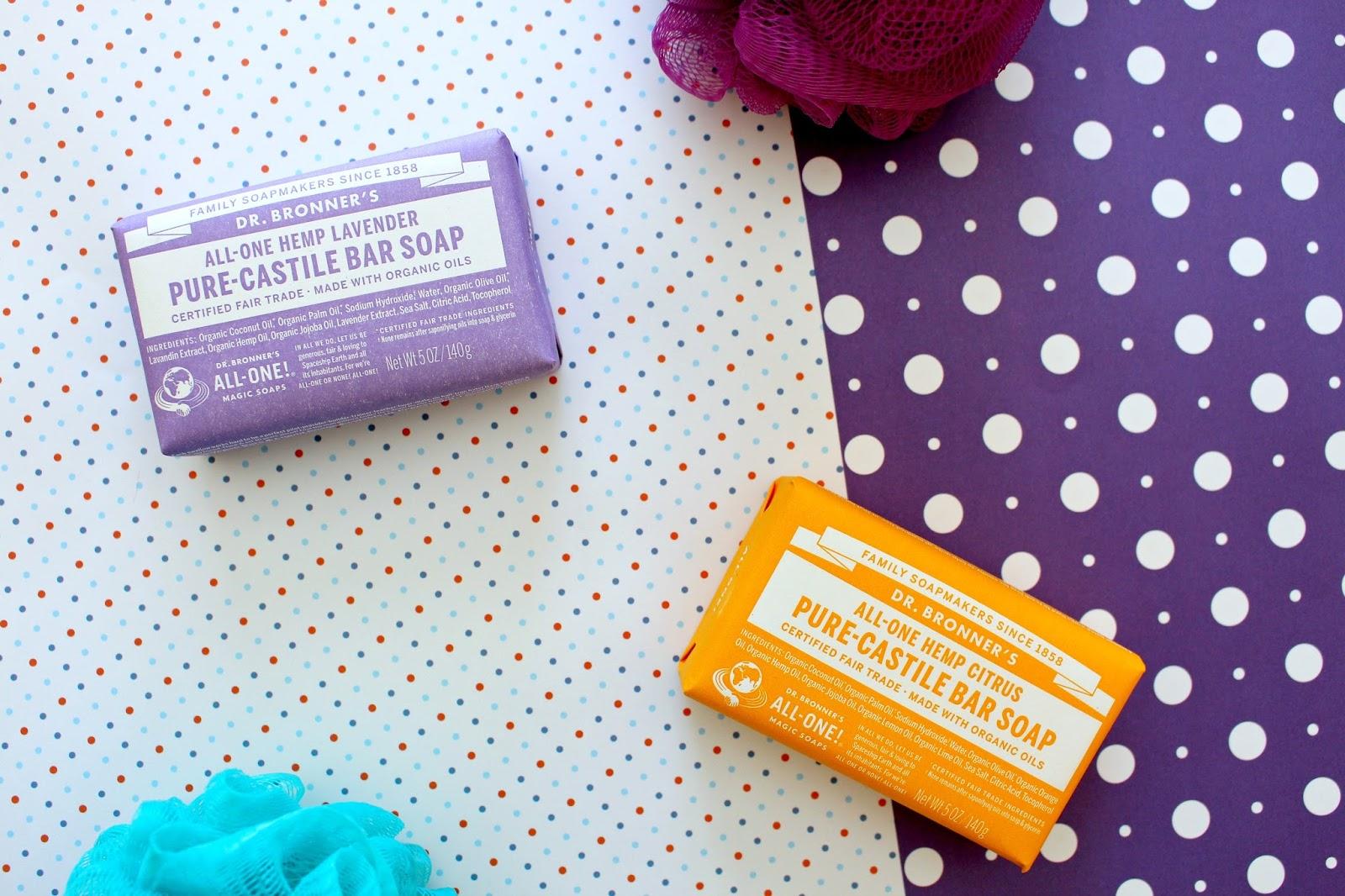 Dr. Bronner's Pure-Castile Bar Soap