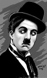 Charlie Chaplin Art