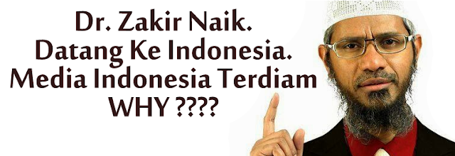 Image result for Zakir Naik ke indonesia