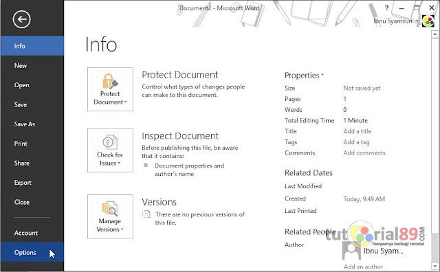 Cara mengatasi typo saat mengetik di Microsoft word dengan autocorrect