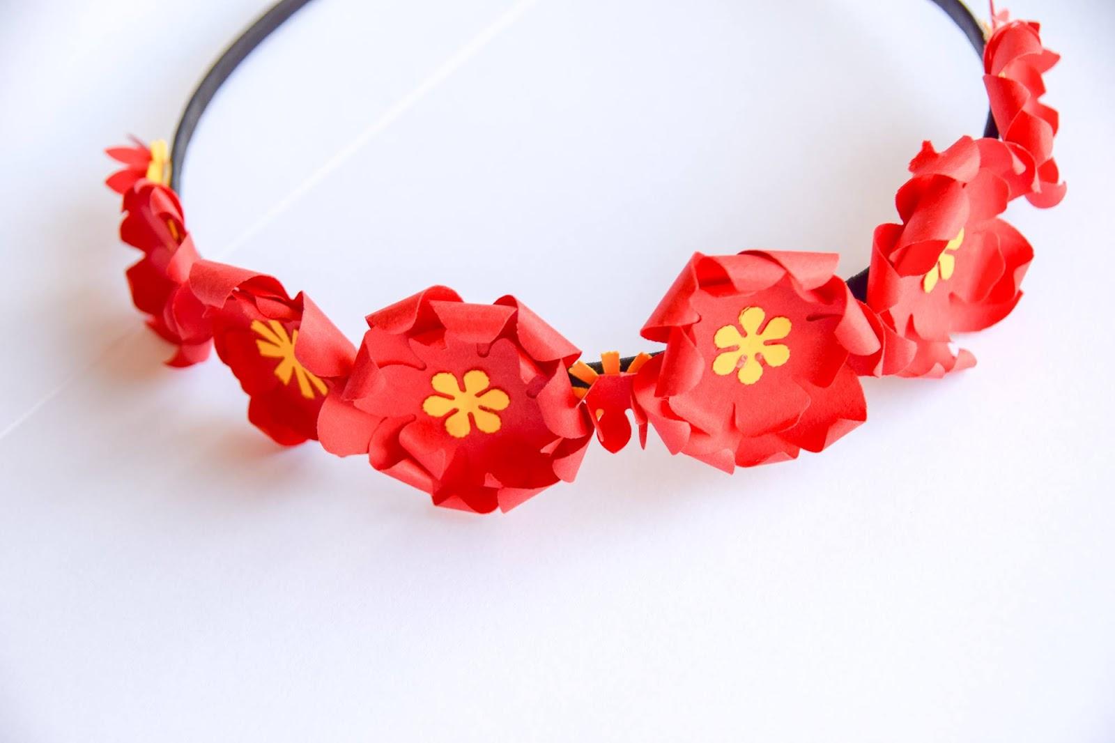 Coronite cu Flori de Hartie, Handmade, DIY, Bucuresti