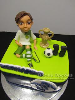 sporting clube de meda bolo aniversário