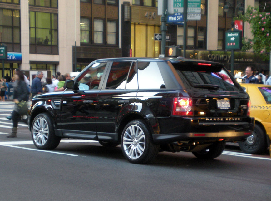 Car Dinal 2010 Black Range Rover