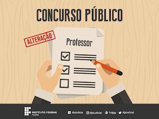 Prazo de inscrições do concurso público para professores é prorrogado