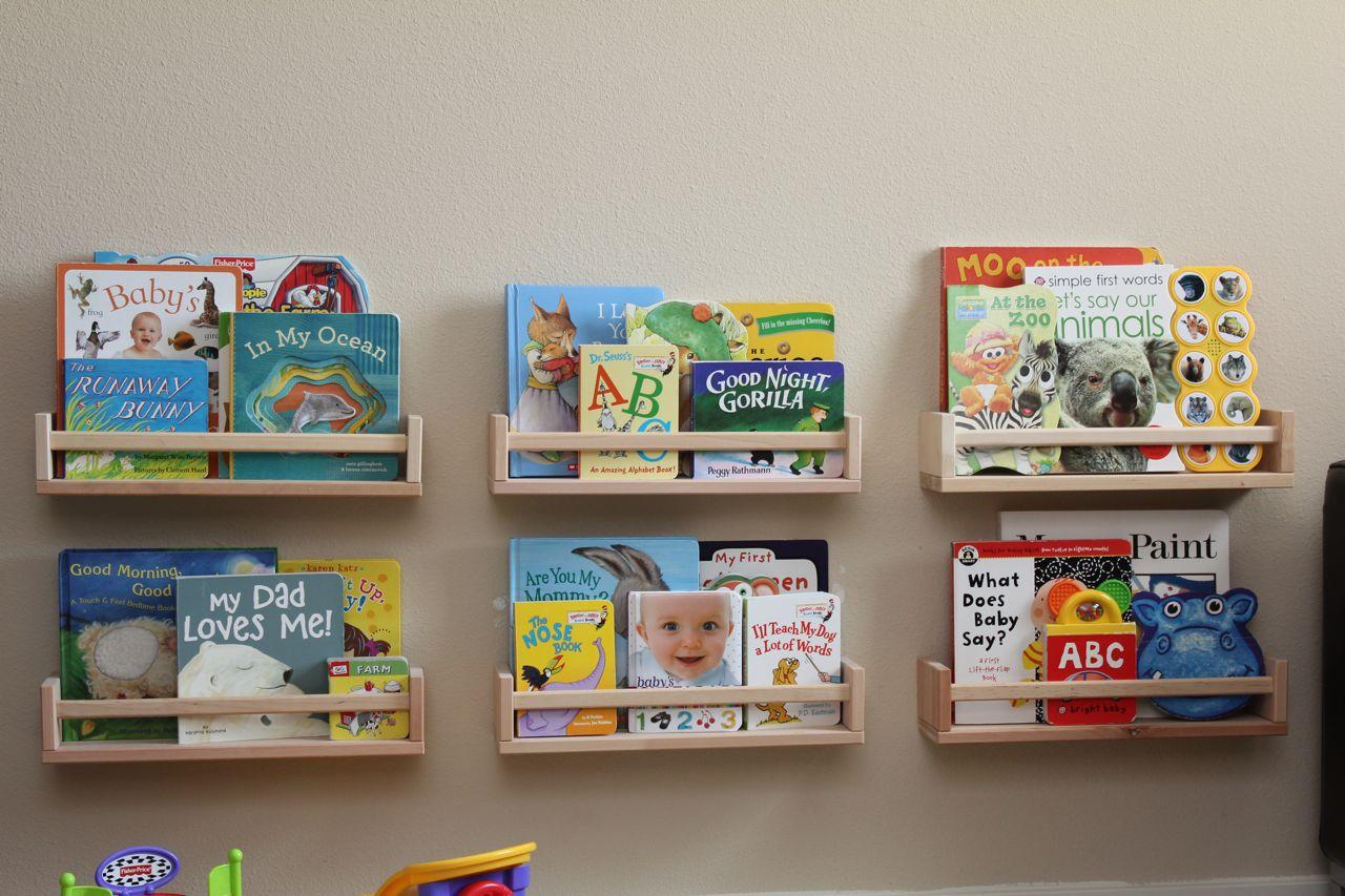 Sew In Love: Spice Rack Bookshelves