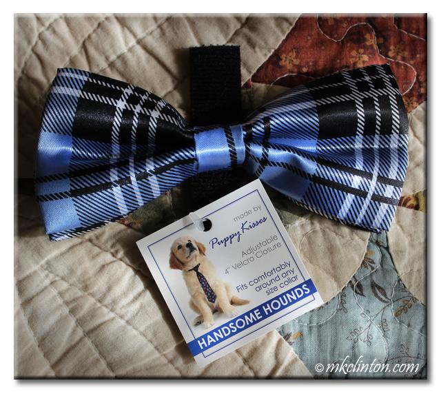 Puppy Kisses.com Handsome Hounds Bow Tie