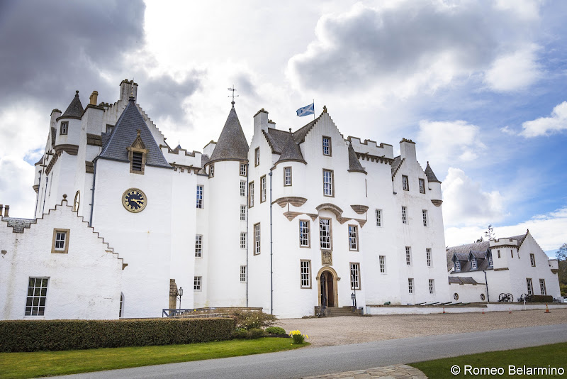 Blair Castle Scottish Highlands Road Trip Itinerary