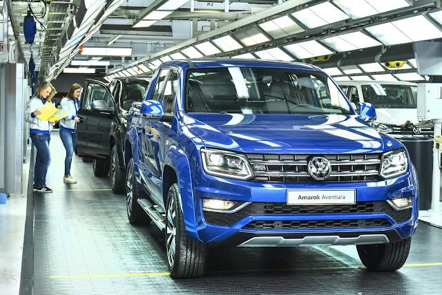 VW Amarok V6 272 cv: preço parte de R$ 223 mil - Europa