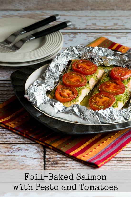 Kalyn's Kitchen Picks: Kirkland Basil Pesto (plus 20 recipes using Pesto from Kalyn and other bloggers!) found on KalynsKitchen.com