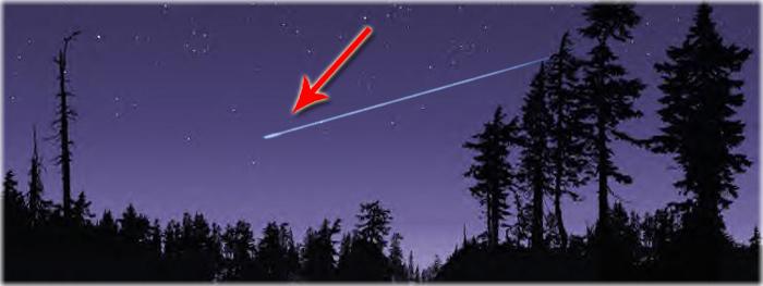 coco dos astronautas vira meteoro - estrela cadente