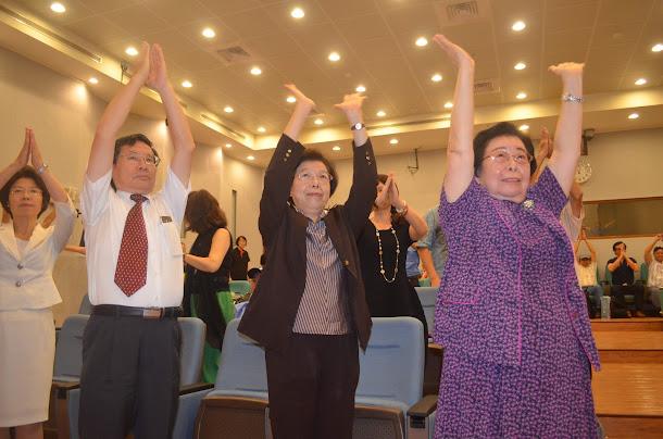 監察院長張博雅(中)今(29)天在監察院舉辦「老人人權研討會」上表示,應加強監督政府解決長期照護問題。